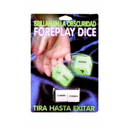 DADOS GLOW IN THE DARK DICE ESPAÑOL